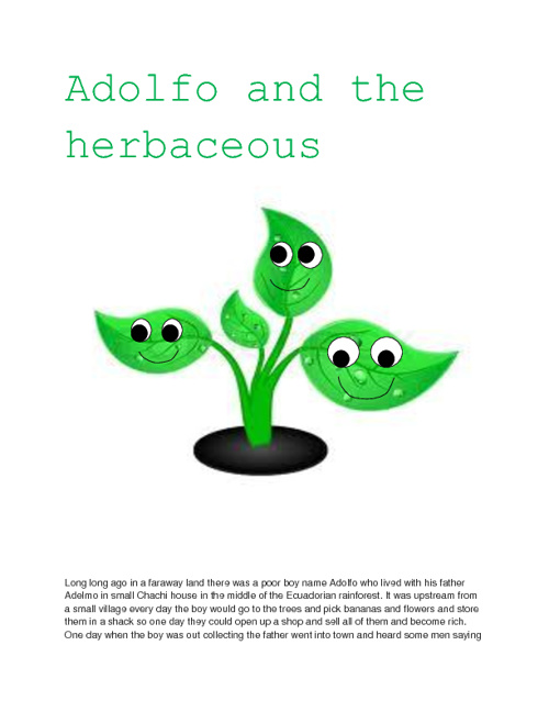Adolfo and the Herbaceous
