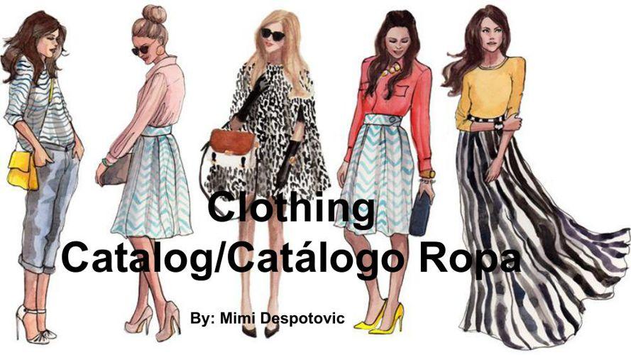 Clothing Catalog - MILICA DESPOTOVIC (1)