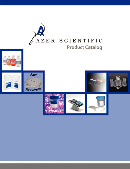 Azer Scientific 2011-2012 Product Catalog