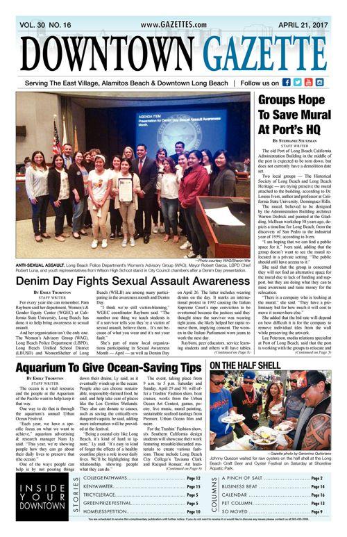 Downtown Gazette  |  April 21, 2017