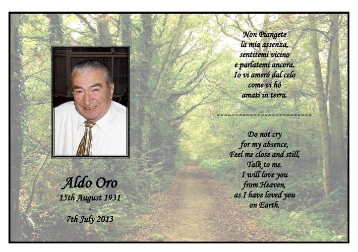 Aldo Oro