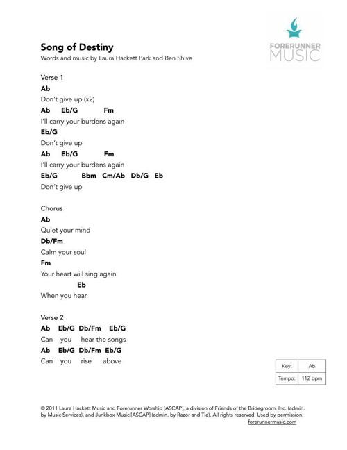 Laura Hackett Park Lyrics