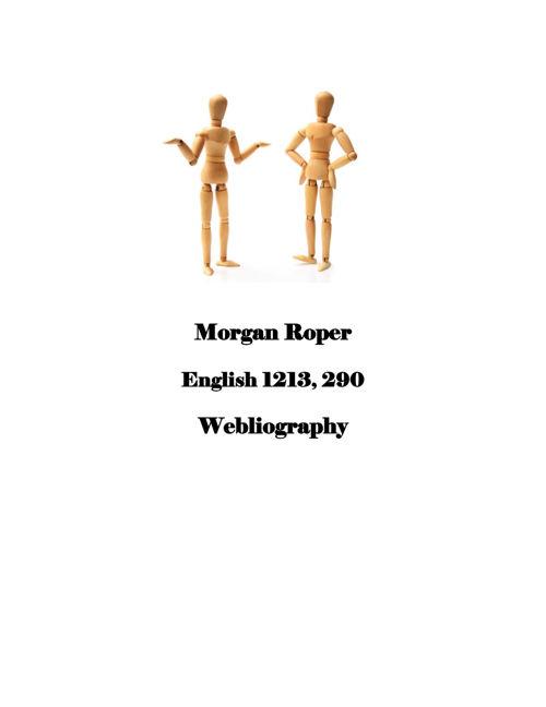 Morgan Ropers Webliography