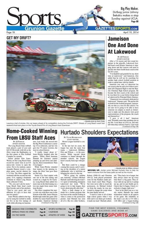 Gazette Sports 4-10-14