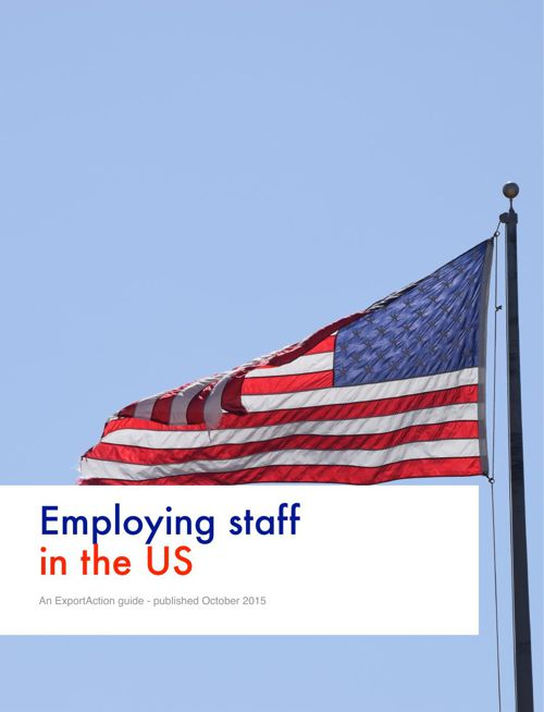 Employing staff in the US