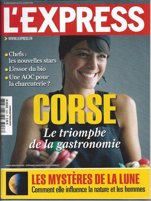 L'express juillet 2009 (n°3028) - Le terroir en douceurs