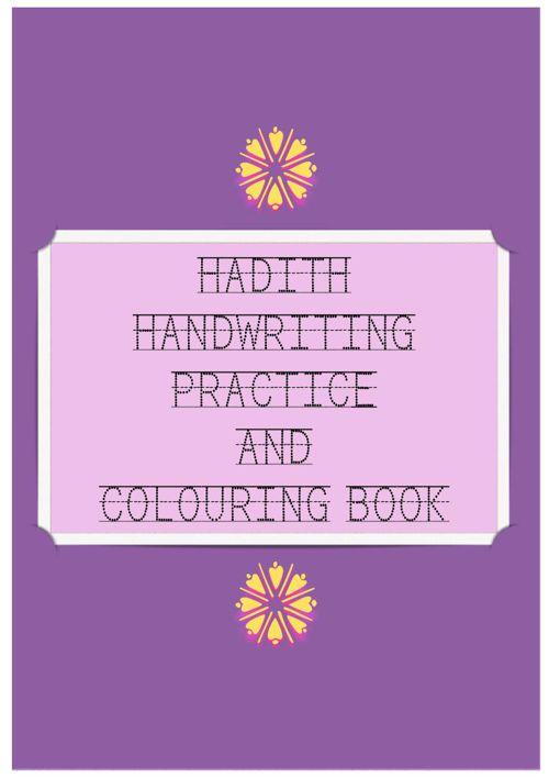 Hadith Handwriting and Colouring Book (Girls)