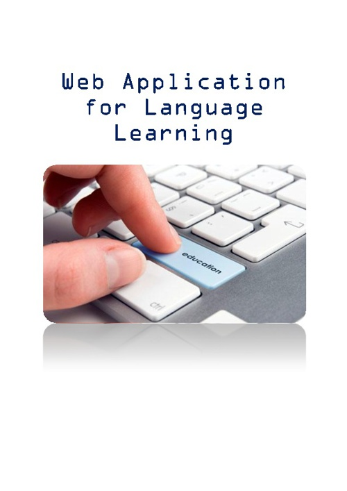 Web Applications for Language Learning