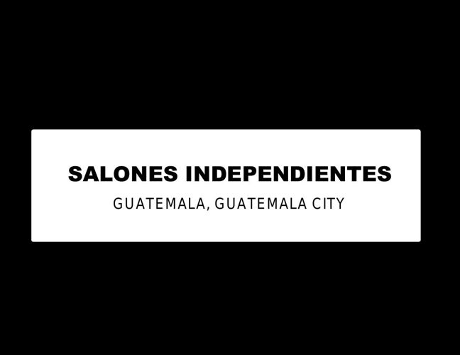 SALONES INDEPENDIENTES  8