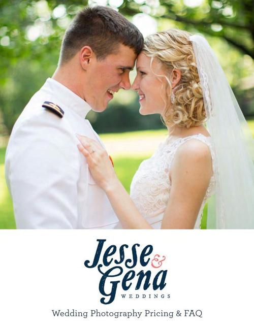 Copy of Jesse & Gena Wedding Magazine 2014 | Pricing & FAQ