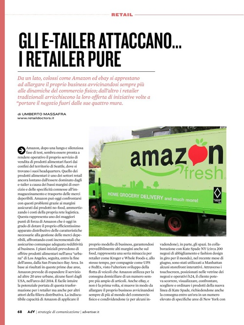 Everywhere shopping: gli e-tailer attaccano...i retailer pure