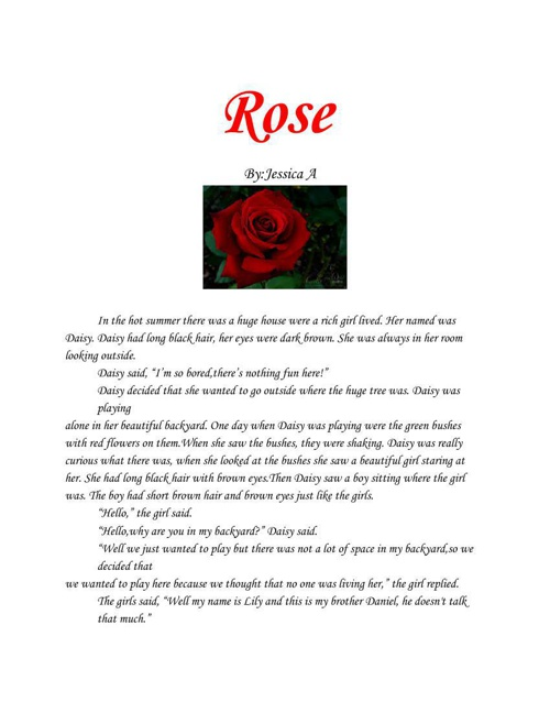 How roses came to be
