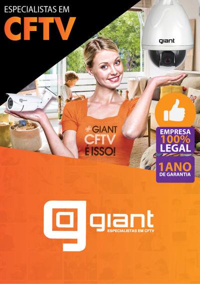 Catálogo de Produtos GIANT CFTV 2015