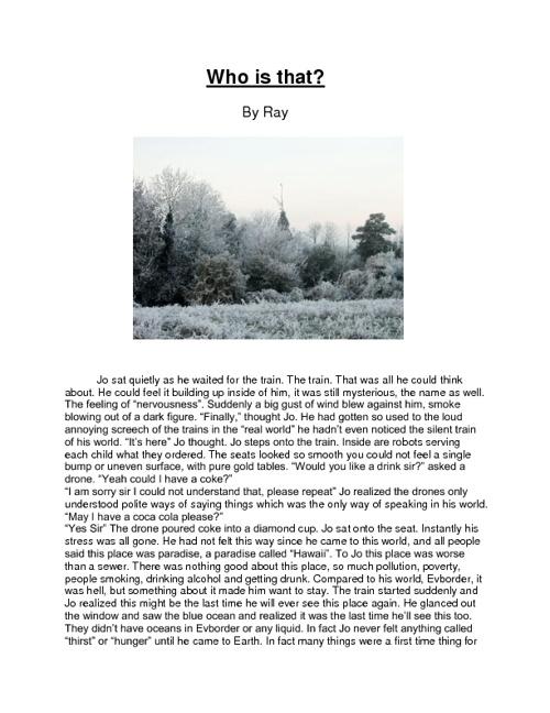 Ray Short Story