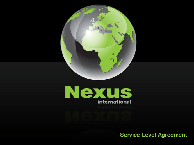 Nexus International Example SLA