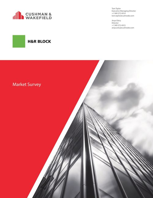 H&R Block Market Survey - Tour