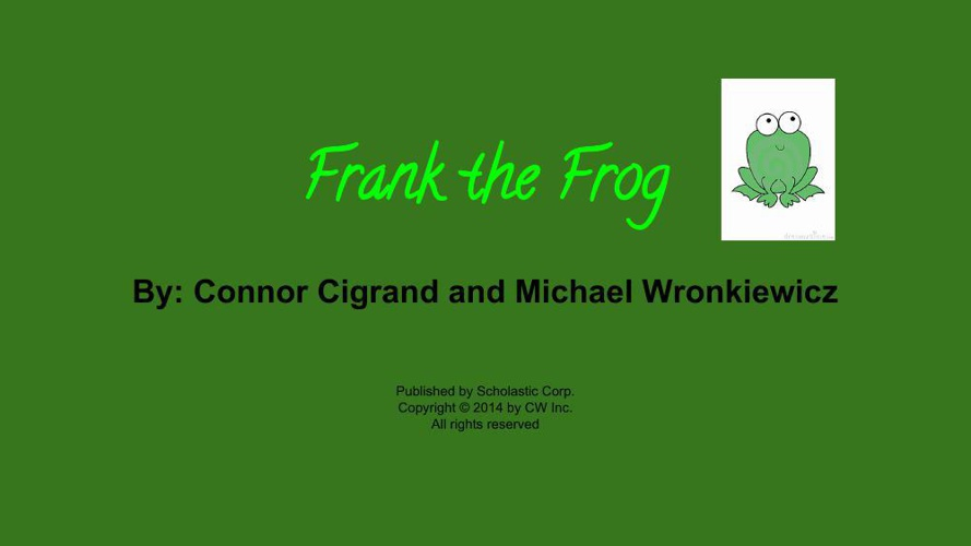 Frank the Frog story (1)
