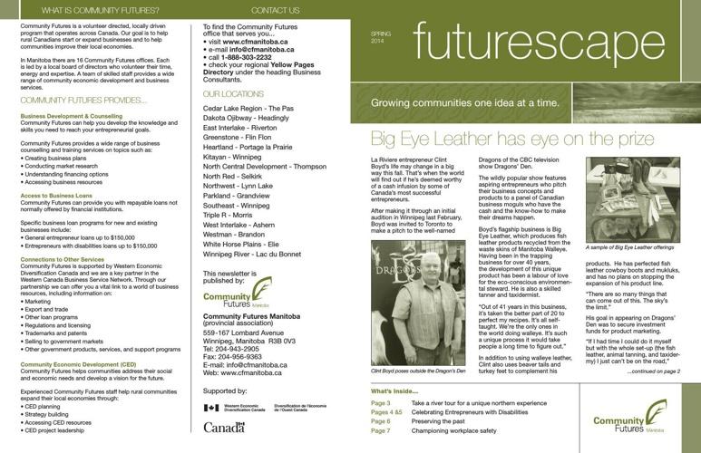Futurescape /Spring, 2014