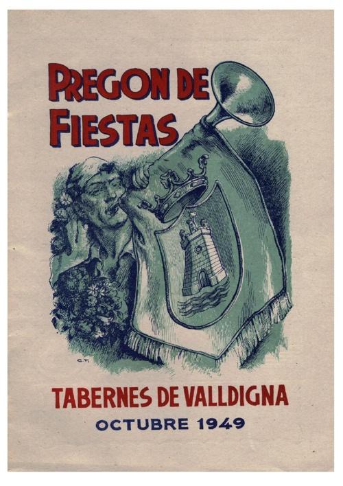 Libro fiestas 1949