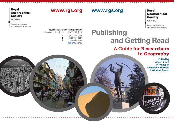 RGS-IBG Publishing and Getting Read 2015