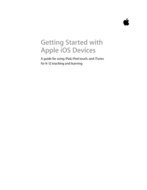 Getting Started with Apple Devices