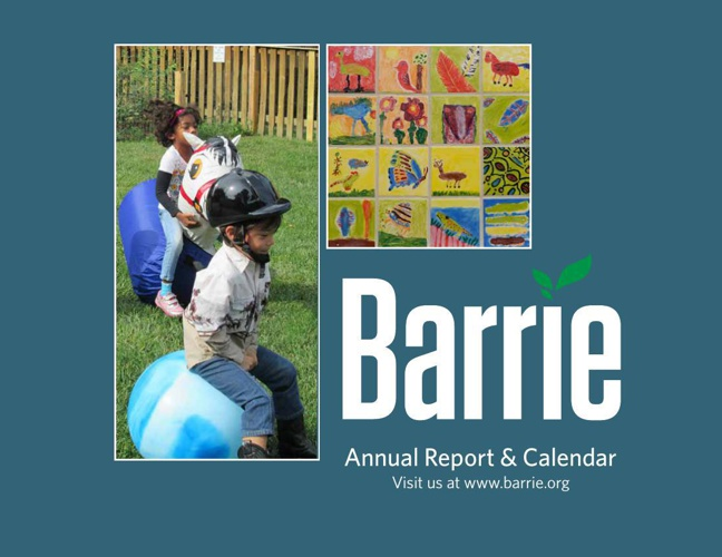 Barrie Annual Report 2013-14