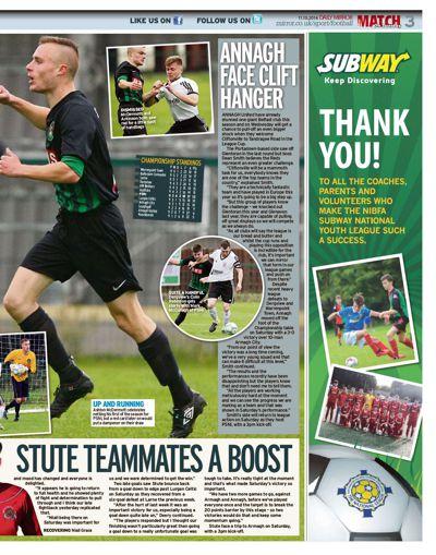 Match issue 10, Season 2016/17