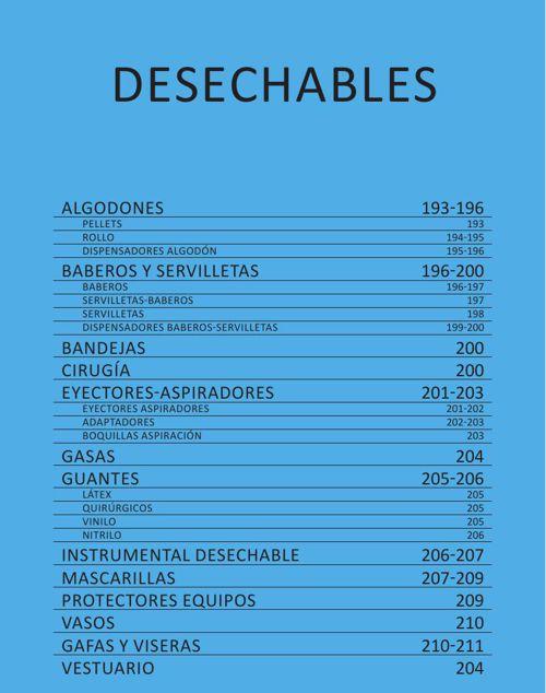 DESECHABLES - CAT. GRAL. 2015 CASA SCHMIDT