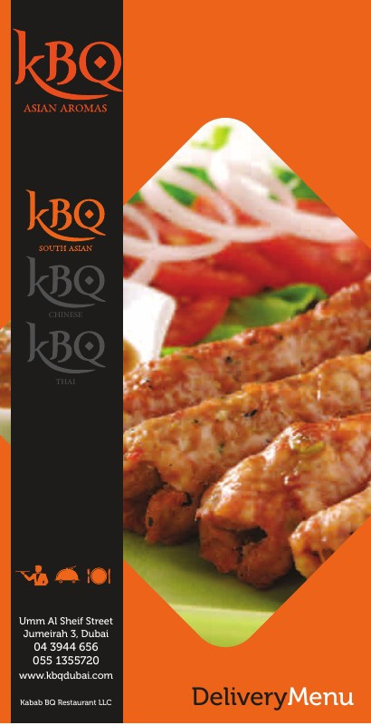 KBQ South Asian Delivery Menu
