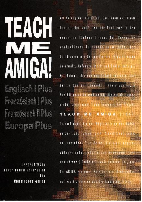 Teach me Amiga