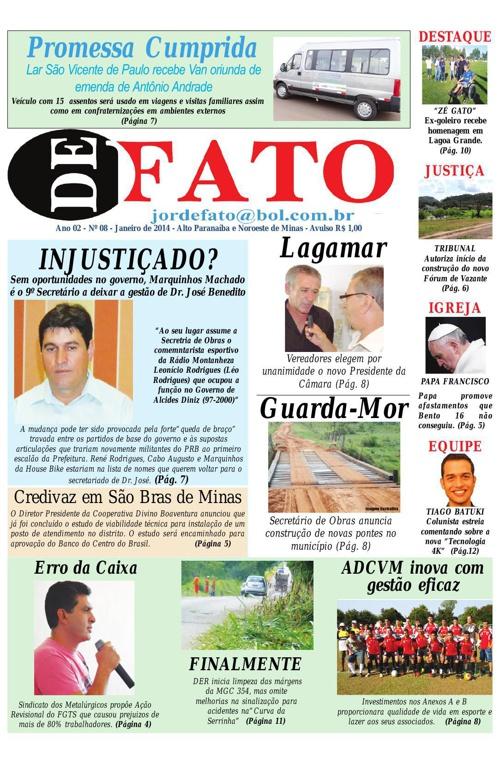 Jornal De Fato 08ª Edição