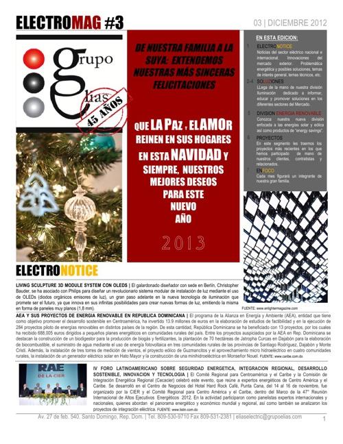 ELECTROMAG 03 DIC 2012 - GRUPO ELIAS