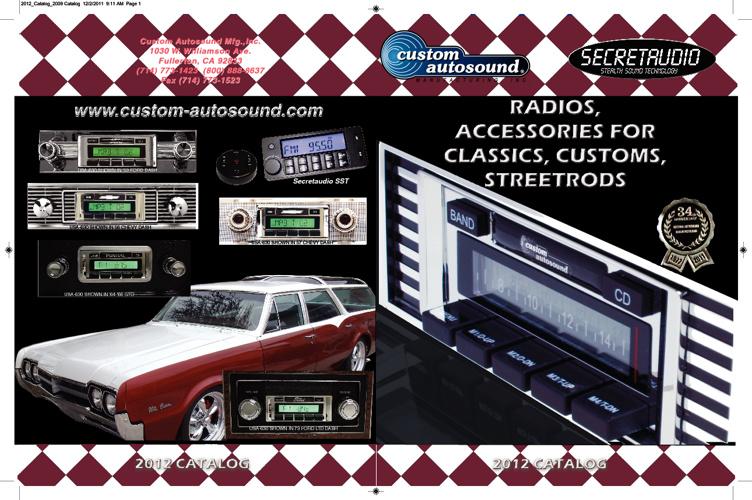 Custom Autosound Catalog