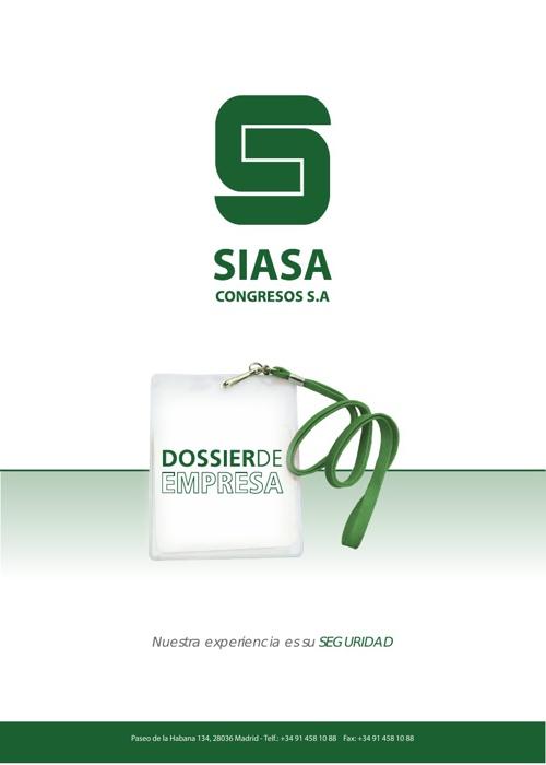 Siasa Congresos - Dossier de Empresa