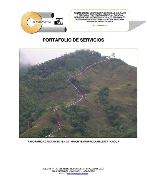 Brochure Colmogas Ltda