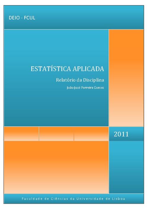 Relatório de Estatística Aplicada