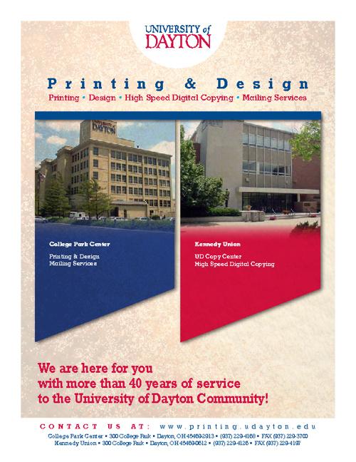 UD Printing & Design Catalog