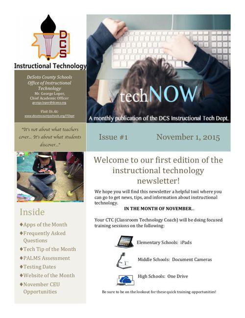 TechNOW Newsletter