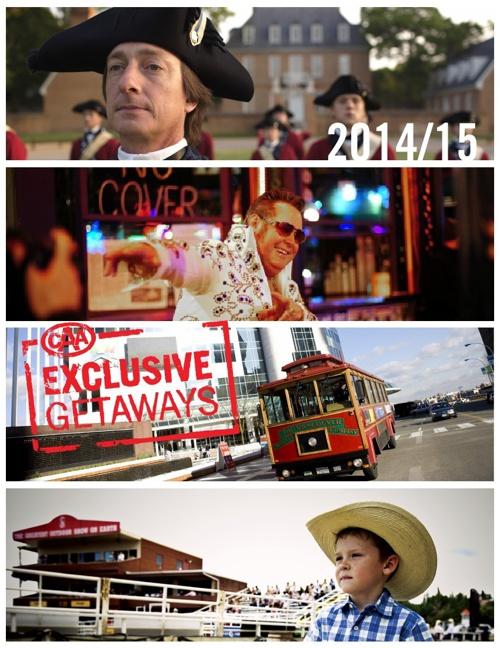 CAA Exclusive Getaways 2014