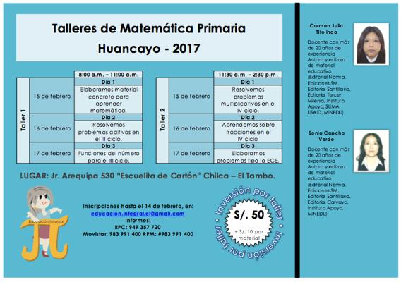 Taller Huancayo
