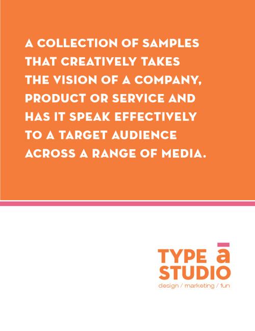 Type A Studio, Inc. Workbook