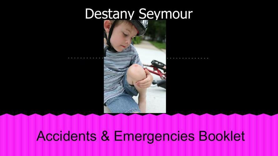 Accidents & Emergencies Booklet