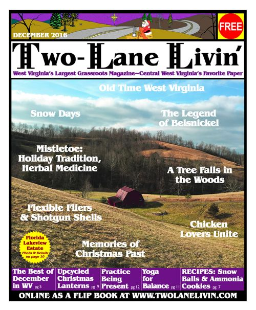 Two Lane Livin December Issue