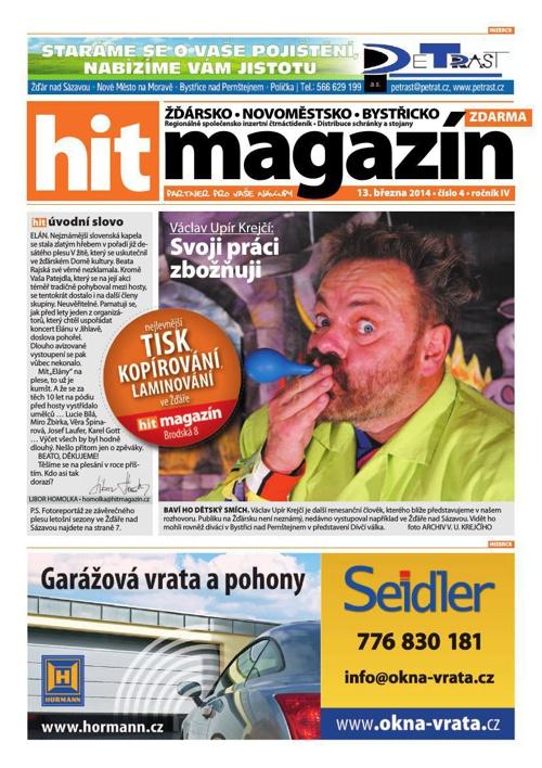 Hit magazín č.4 2014