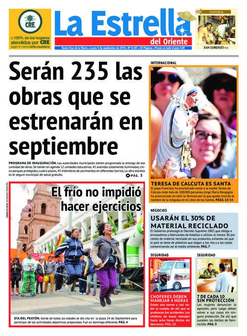 Edicion 05-09-2016