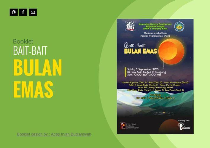 Booklet BAIT-BAIT BULAN EMAS