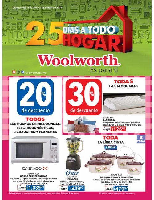 Woolworth Hogar 25 días