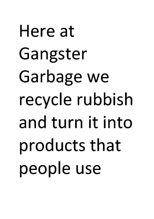gangster garbage
