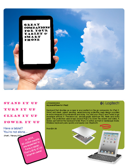 Tablet and Smart Phone Accessories Catalog