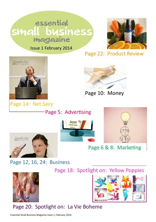 Essential Small Business Magazine  Issue 1 February 201